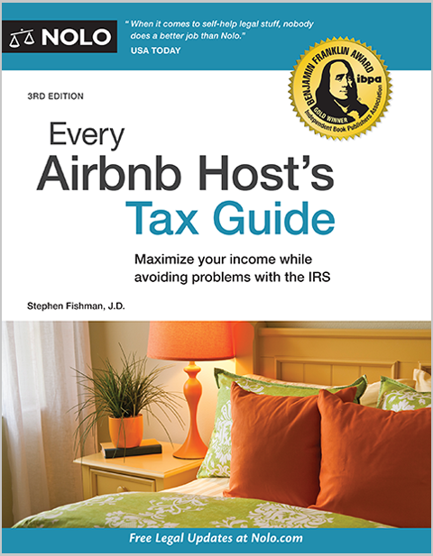 Every Airbnb Host S Tax Guide Nolo