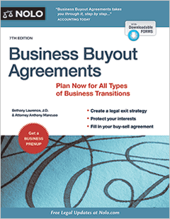 Business Buyout Agreements - Legal Book - Nolo