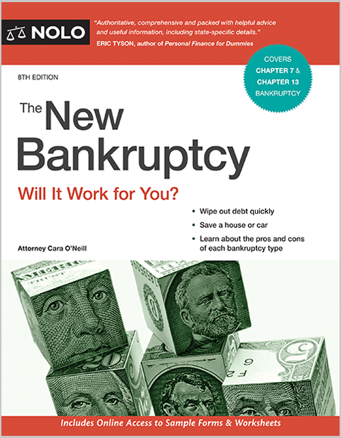 The New Bankruptcy Legal Book Nolo