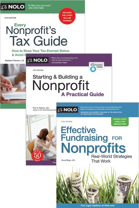 Nolo's Nonprofit Bundle