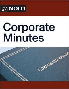 Corporate Minutes