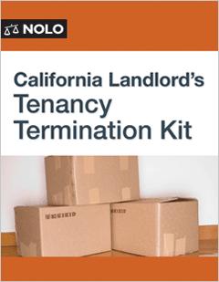 California Landlord's Tenancy Termination Kit