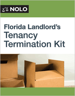 Florida Landlords Termination Kit Legal Form Nolo