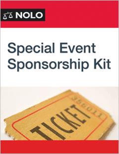 Special Event Sponsorship Kit