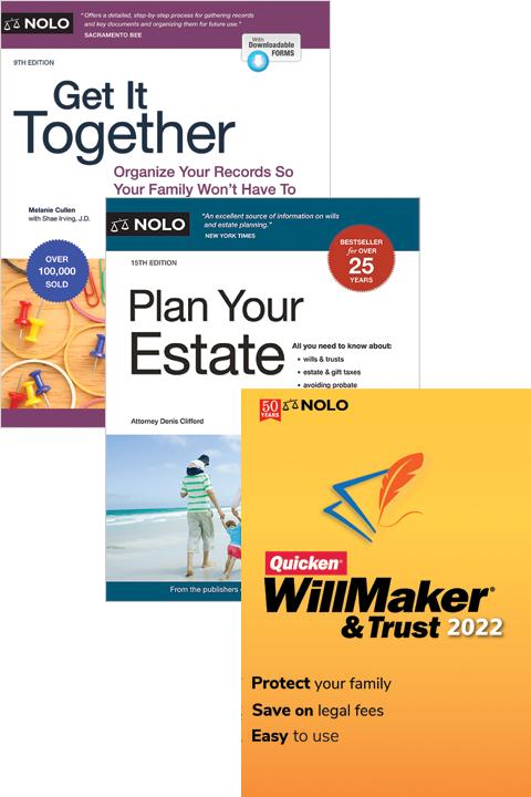 Nolo's Estate Planning Bundle