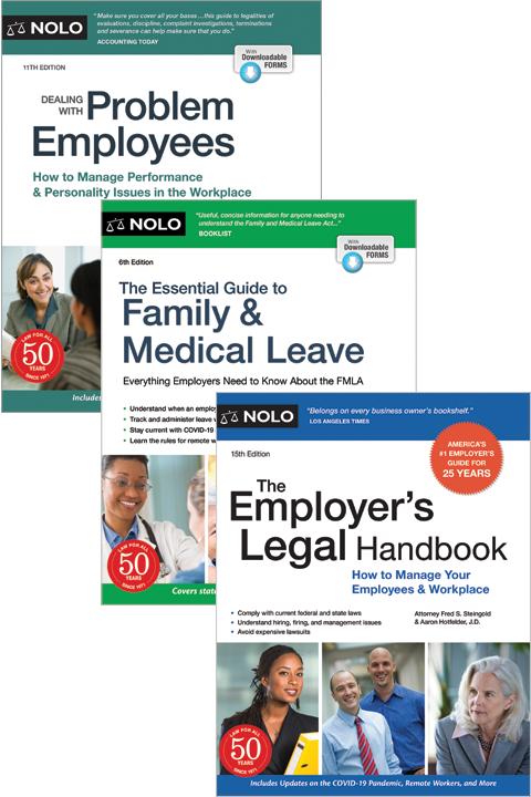 Nolo's Human Resources Bundle