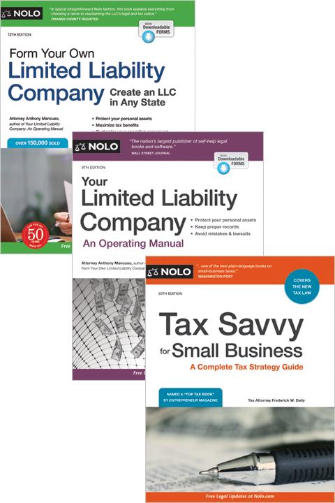 Nolo's Start & Run an LLC Bundle