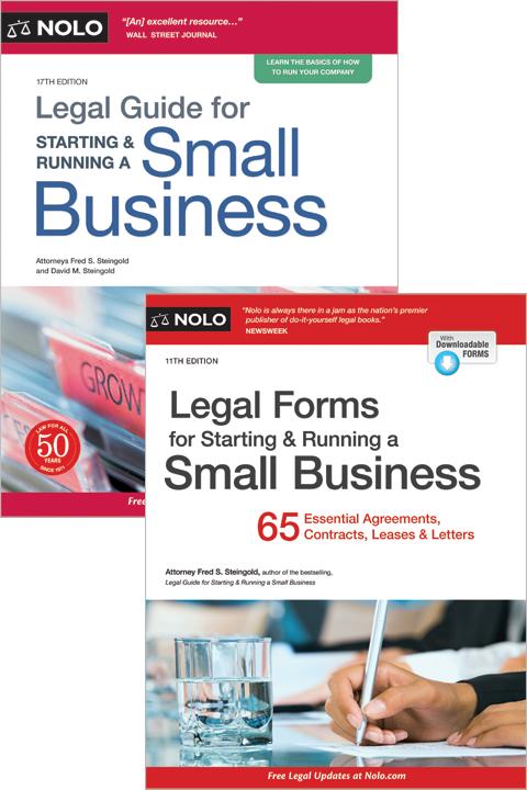 Nolo's Start & Run a Business Bundle