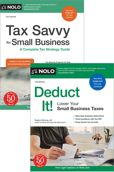 Nolo's Small Business Tax Bundle