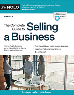 The complete guide to selling a business legal book nolo the complete guide to selling a business fandeluxe Choice Image