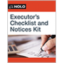 Executor's Checklist and Notices Kit
