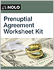 Prenuptial Agreement Worksheet Kit