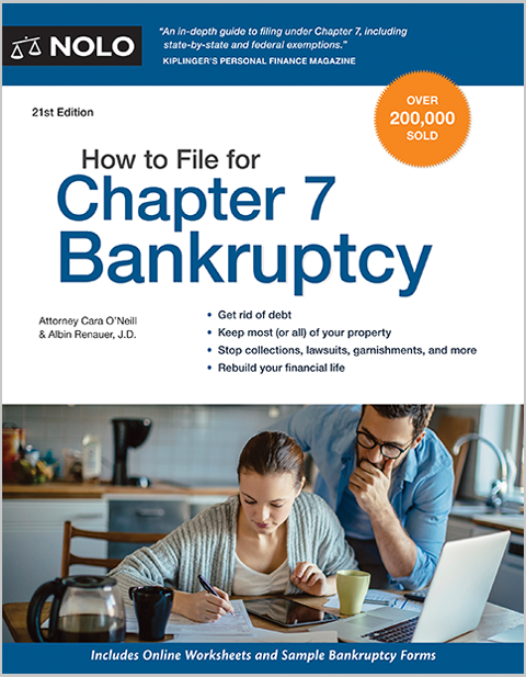 How To File For Chapter 7 Bankruptcy Do It Yourself Bankruptcy Nolo