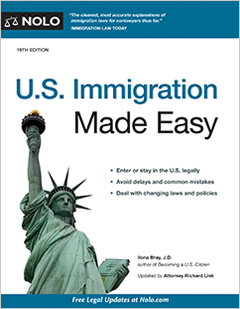 U S  Immigration Made Easy - Legal Book - Nolo