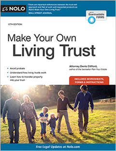 Make Your Own Living Trust Legal Book Nolo