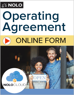 Llc Operating Agreement Online Legal Form Nolo