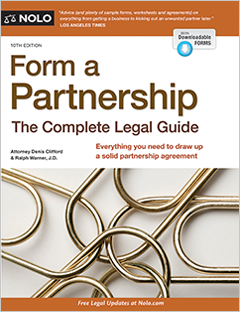 Form a Partnership - The Complete Legal Guide - Nolo