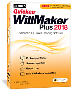 Quicken willmaker plus 2018 nolo quicken willmaker plus is reviewed regularly by nolos expert attorneys the 2018 book and software include important updates to the will and powers of solutioingenieria Image collections